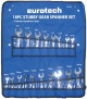 18Pc AF/Metric Stubby Gear Spanner Set
