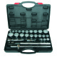 "26Pc 3/4""Drive AF/Metric Socket Set"